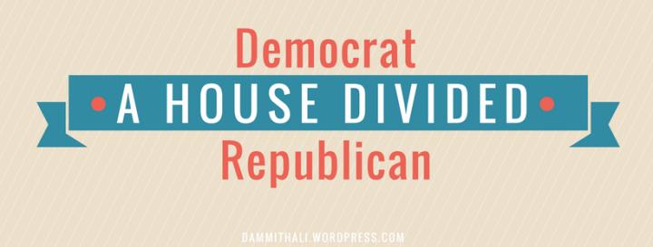 A house divided: Democrat vs.Republican