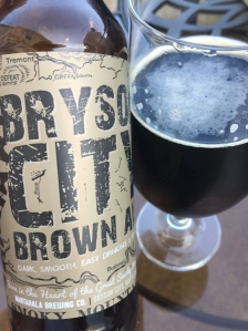 Bryson City Brown Ale from Nantahala Brewing Company