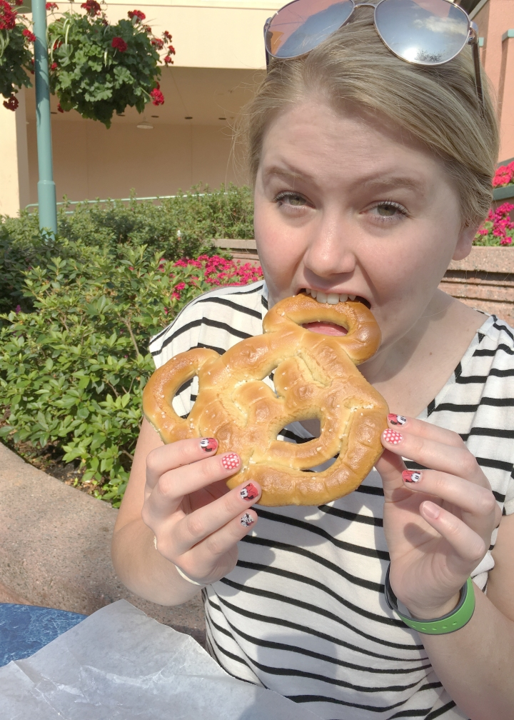 First Mickey Pretzel