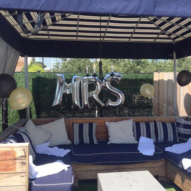 Bachelorette Party Cabana