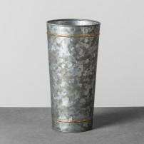 Galvanized Vase