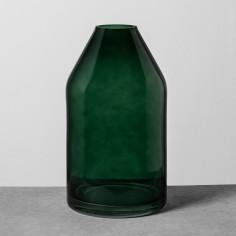 Glass Jug Vase Green