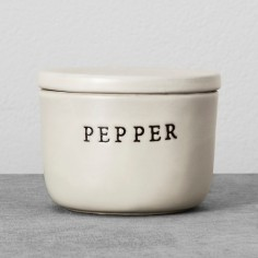 Stoneware Pepper Cellar