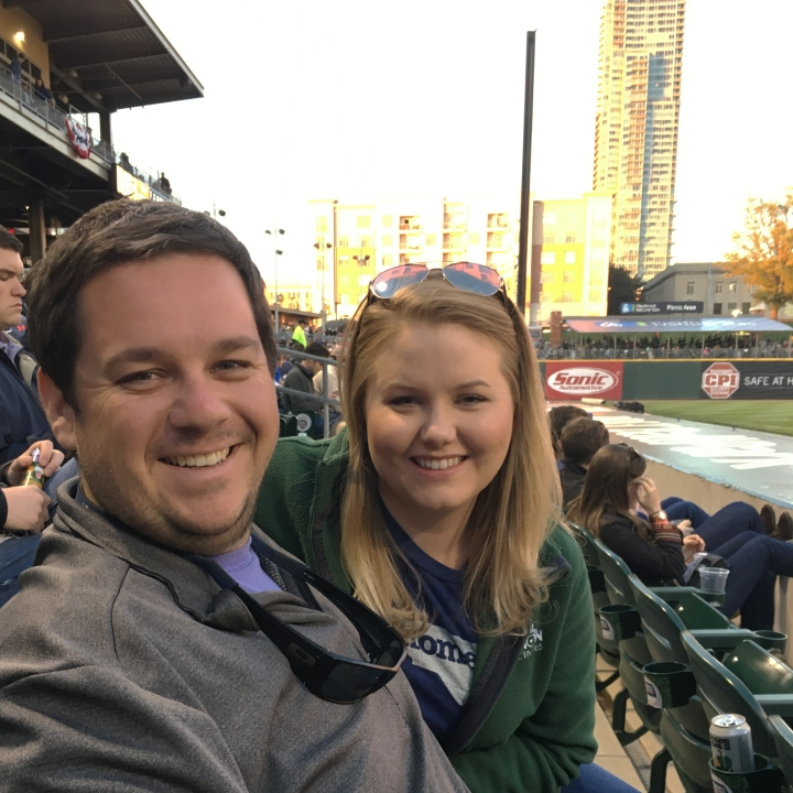 Baseball Game at BB&T Ballpark