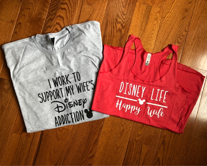 Disney Husband and Wife Shirts