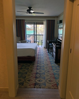 Courtyard View Room at Disney's Wilderness Lodge
