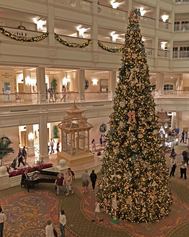 Christmas Tree at Disney's Grand Floridian Resort & Spa