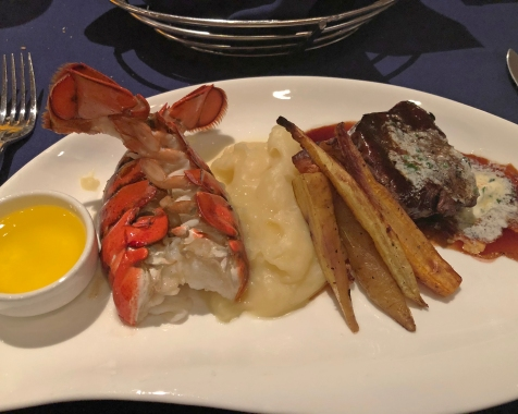 Dinner at Narcoossee's at Disney's Grand Floridian Resort & Spa
