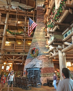 Christmas at Disney's Wilderness Lodge
