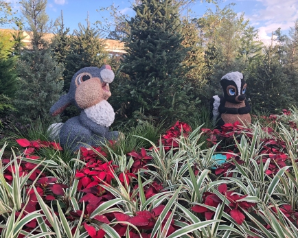 Holiday Decorations at Epcot