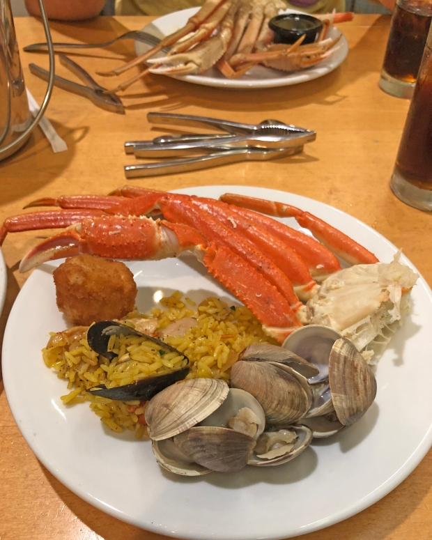 Seafood Buffet at Cape May Cafe