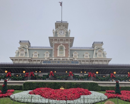 Christmas at Magic Kingdom