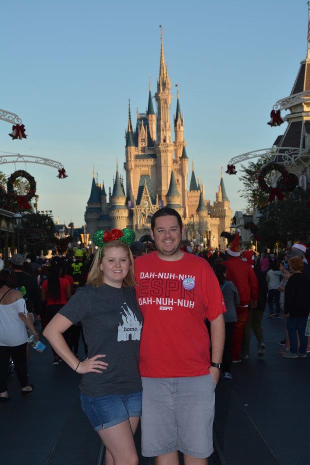 Christmas Day at Magic Kingdom