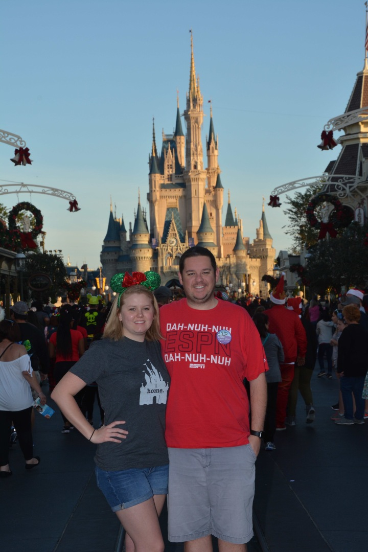 Christmas Day at Magic Kingdom