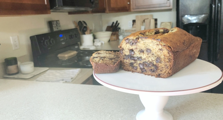 Recipe /// Easy Chocolate Chip Banana Bread
