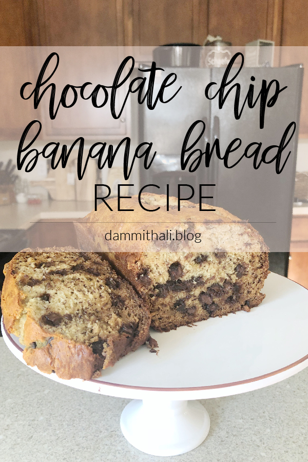 Chocolate Chip Banana Bread Recipe on Dammit, Hali