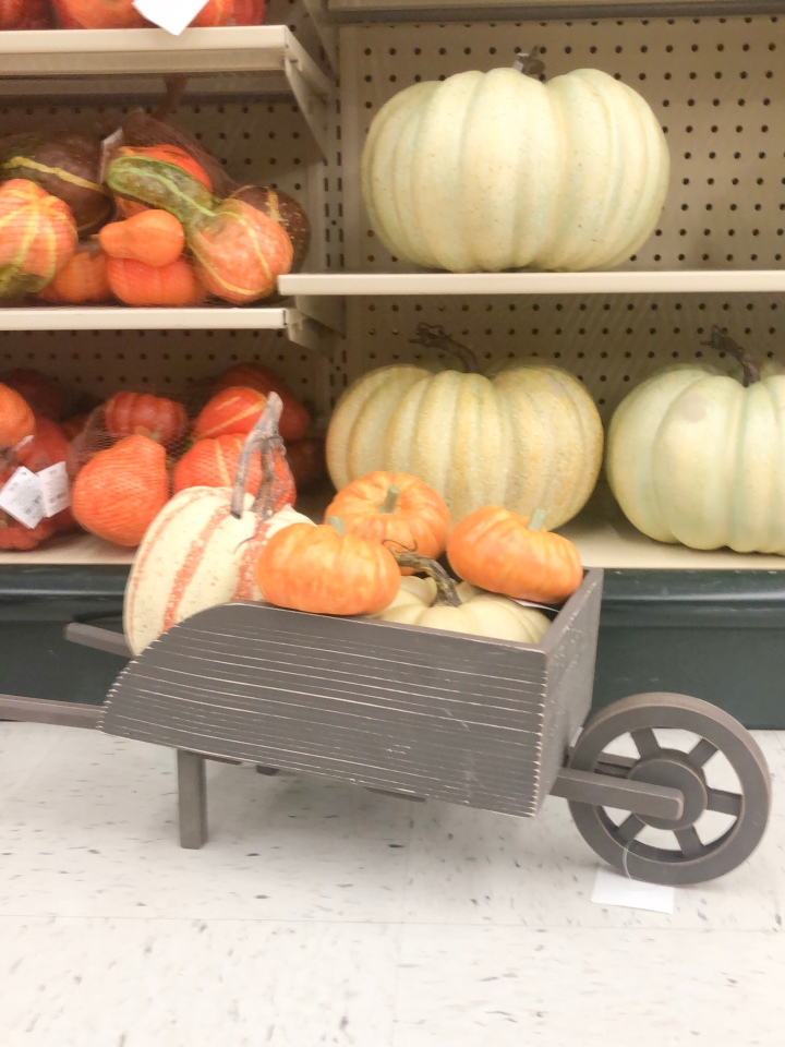 Distressed Wagon with Pumpkins — Dammit, Hali