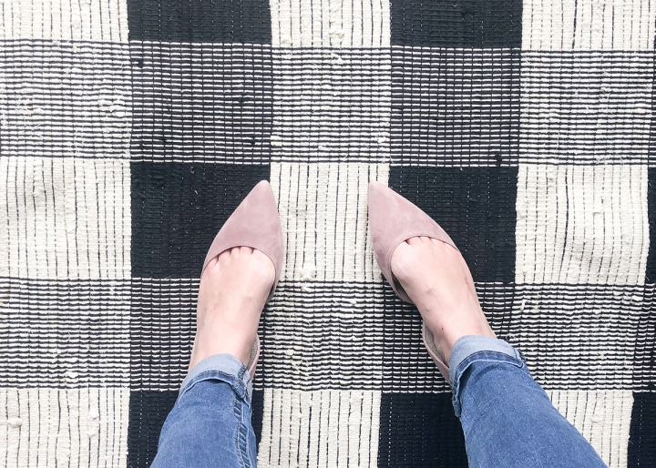 Sam Edelman Rodney Ballet Flat in Dusty Rose