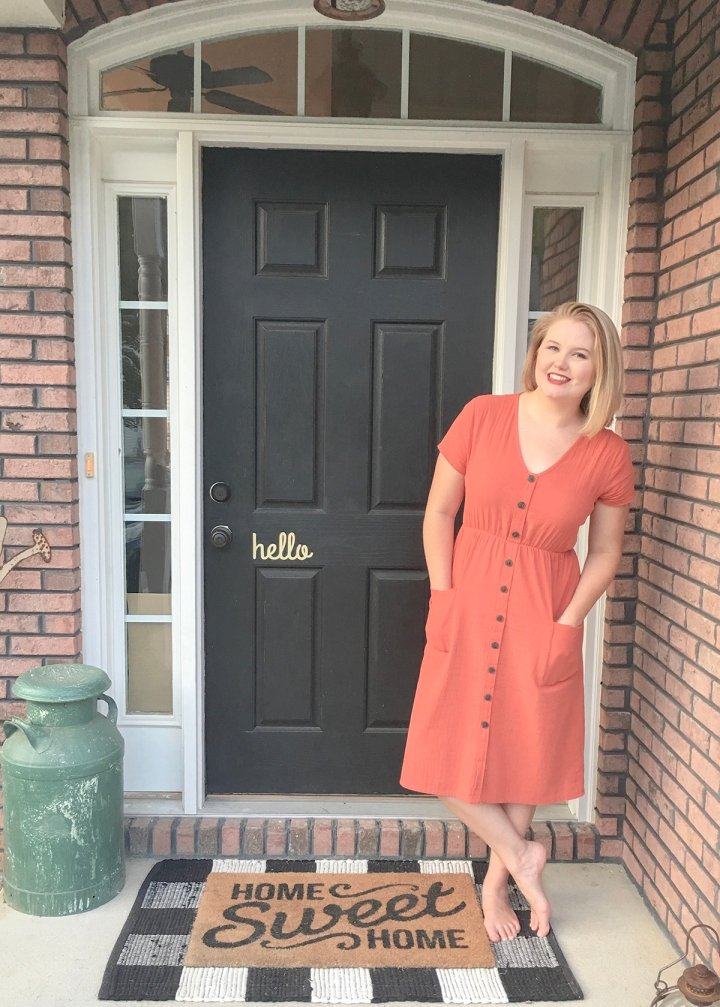 $20 Midi Dress for the First Day of Fall