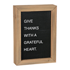 Give Thanks Word Block