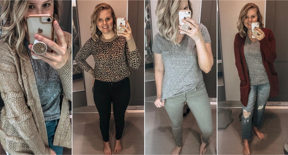 Target Try-On /// Women's Sweaters & Denim Sale