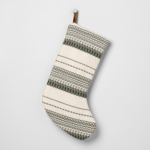 GREEN AND SOUR CREAM STOCKING