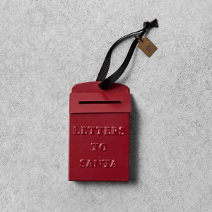 Letters to Santa Ornament