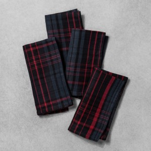 Plaid Napkin Set