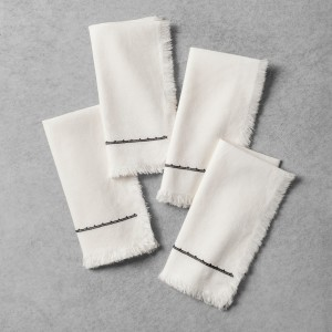 SOUR CREAM NAPKIN SET