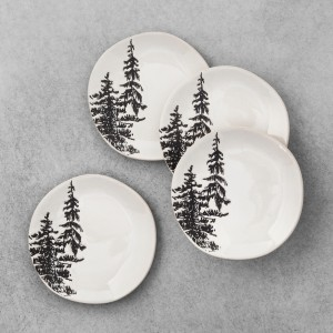 Tree Appetizer Plates 1