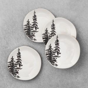 Tree Appetizer Plates 1