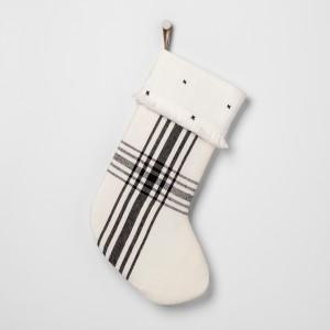 White and Black Stocking