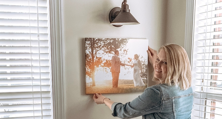 Canvas Champ Canvas Print Review /// How to Use Your Photos as Wall Art