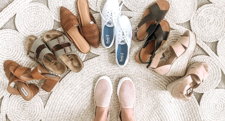 Neutral Shoes for Spring & Summer