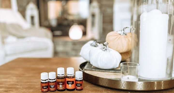 Ditch & Switch /// Fall Diffuser Essential Oil Blends Instead of Fall Candles