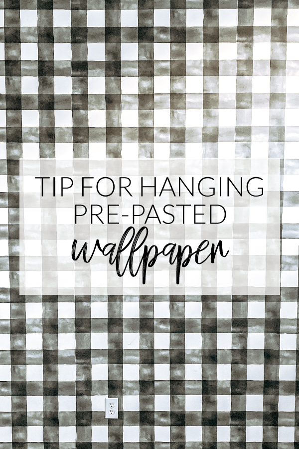 Tips For Hanging Pre Pasted Wallpaper